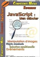 JavaScript: Bien débuter by Martin Bayer