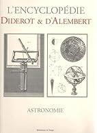 Astronomie (L'Encyclopedie Diderot &…