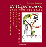 Claude Debon: Calligrammes (French Edition)