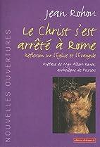 Le Christ s'est arrêté à Rome by Jean…
