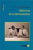 mémoires de la décolonisation…