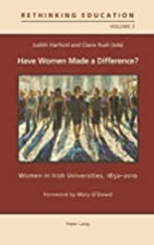 Have Women Made a Difference?: Women in…