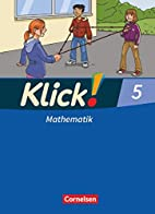Klick! Mathematik 5. Schuljahr. Schulerbuch.…