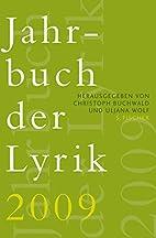 Jahrbuch der Lyrik 2009 by Christoph…