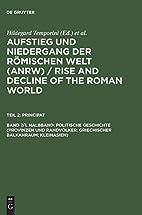 Aufstieg and Niedergang Der Romischen Welt;…