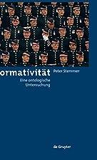 Normativität eine ontologische Untersuchung…