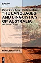 The languages and linguistics of Australia :…