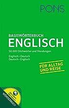 PONS Basiswörterbuch Englisch: Englisch…