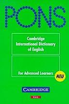 PONS Wörterbuch, Cambridge International…