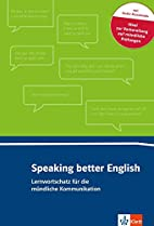 Speaking better English: Buch Online-Angebot…