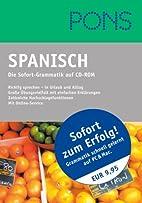 PONS Spanisch - die Sofort-Grammatik auf…
