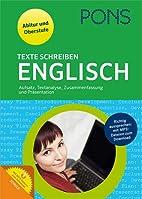 PONS Texte schreiben Englisch: Aufsatz,…