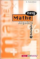 Mathe easy, Algebra, 7. Schuljahr by Hans…