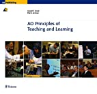 AO Principles of Teaching and Learning by…