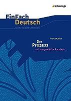 EinFach Deutsch Unterrichtsmodelle: Franz…
