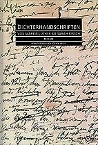 Dichterhandschriften: Von Martin Luther bis…
