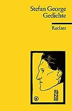 Gedichte by Stefan George