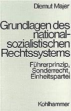 Grundlagen des nationalsozialistischen…