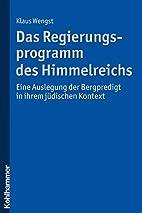 Das Regierungsprogramm des Himmelreichs -…