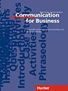 Communication for Business, Satzbausteine by…
