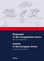 Österreich in der Europäischen Union.…