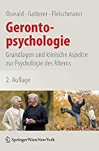 Gerontopsychologie Grundlagen und klinische…