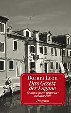 Das Gesetz der Lagune by Donna Leon