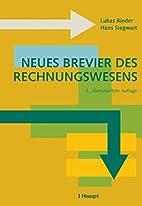 Neues Brevier des Rechnungswesens by Lukas…
