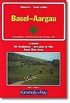 Basel, Aargau Velokarte = bicycle map =…