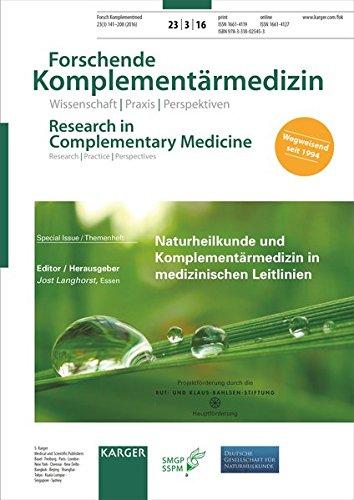 naturheilkunde-und-komplementrmedizin-in-medizinischen-leitlinien-themenheft-forschende-komplementrmedizin-research-in-complementary-medicine-2016-german-edition