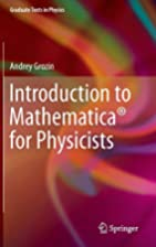 Introduction to Mathematica® for…