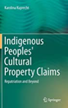 Indigenous Peoples' Cultural Property…
