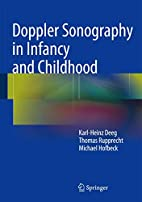 Doppler Sonography in Infancy and Childhood…