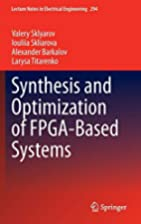 Synthesis and Optimization of FPGA-Based…