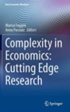 Complexity in economics cutting edge…