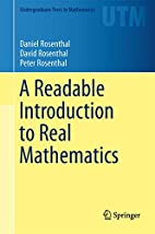 A Readable Introduction to Real Mathematics…