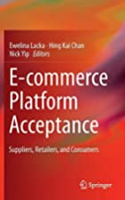 E-commerce Platform Acceptance: Suppliers,…