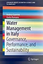 Water Management in Italy: Governance,…