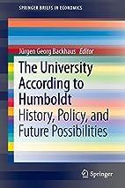 The University According to Humboldt…
