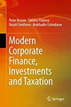 Modern Corporate Finance, Investments and…
