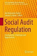Social Audit Regulation: Development,…