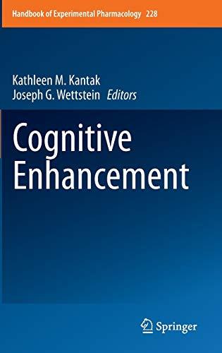 cognitive-enhancement-handbook-of-experimental-pharmacology