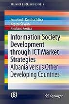 Information Society Development through ICT…