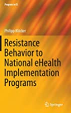 Resistance Behavior to National eHealth…