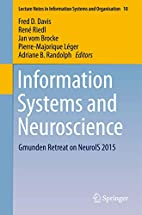 Information Systems and Neuroscience…