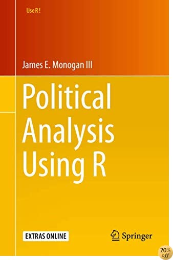 TPolitical Analysis Using R (Use R!)