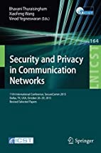 Security and Privacy in Communication…
