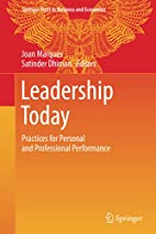 Leadership Today: Practices for Personal and…
