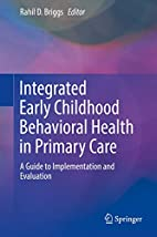 Integrated early childhood behavioral health…