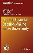 Optimal Financial Decision Making under…